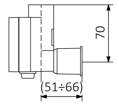 S - bez kabelu (šroubové spojení s krytem)