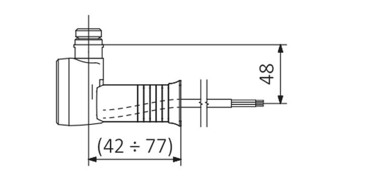 <p>M -rovný kabel n / zástrčka s krycím dílem</p>