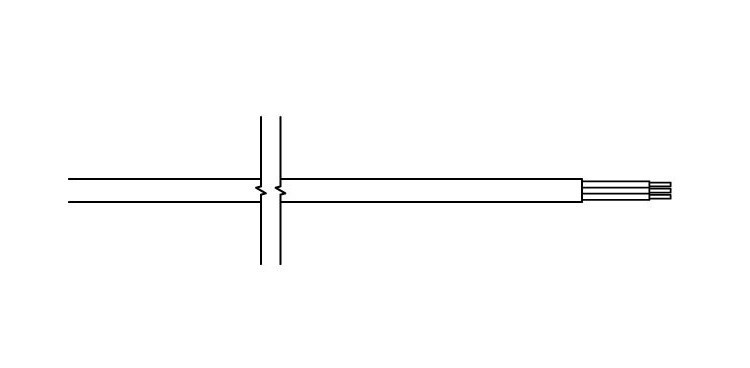 <p>P -rovný kabel, n / zástrčka</p>