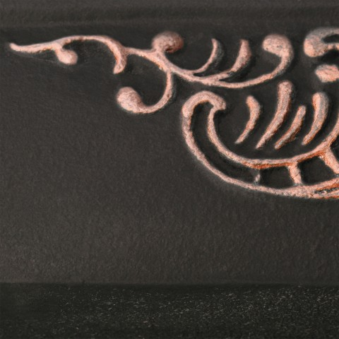 Flat Black [eksponowany ornament - Copper]