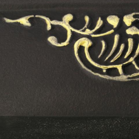 Flat Black [eksponowany ornament - Gold]